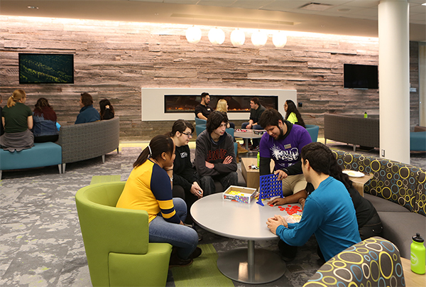 Oakton Community College Student Center An Investment In Interaction Legat Architects